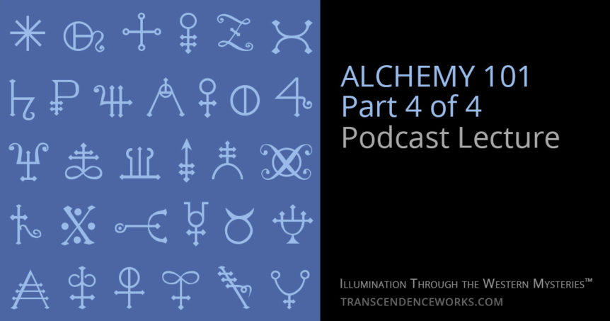 Alchemy 101 Podcast Lecture