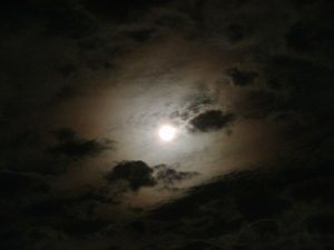 Cloudy Moonlight
