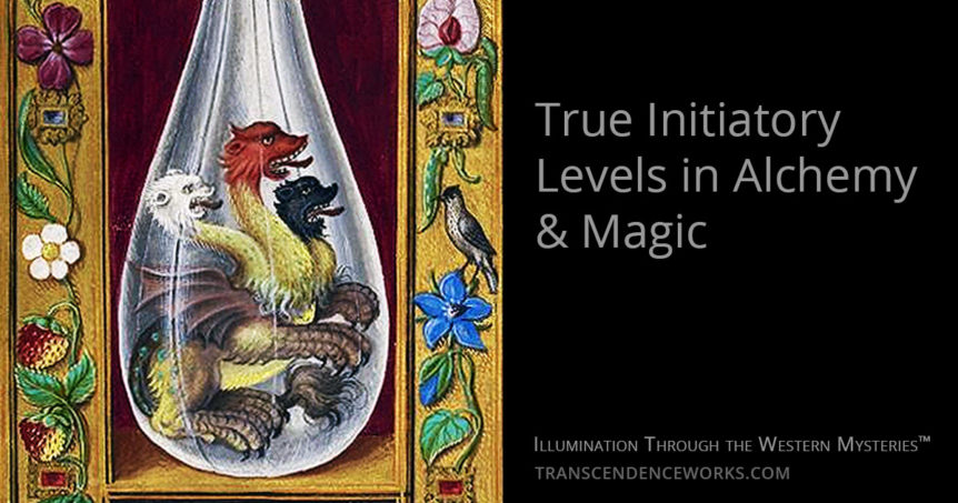 Initiation Levels Alchemy & Magic