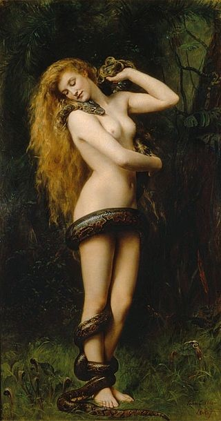 Lilith Moon Goddess (John Collier, 1891)
