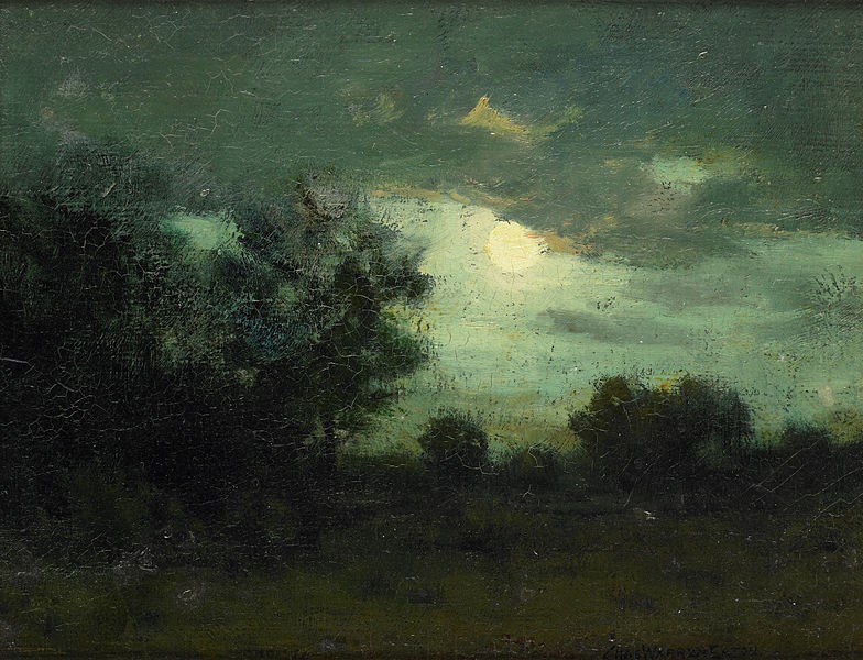 Moon over the Forest (Charles Warren Eaton, 1895)