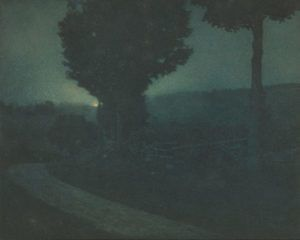 Road into the Valley—Moonrise (Edward Steichen, 1906)