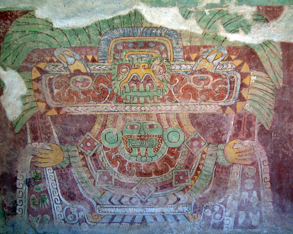 Tetitla Teotihuacan Great Spider Goddess