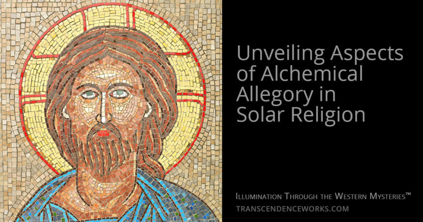 Alchemical Allegory Solar Religion