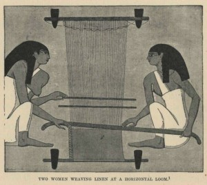 Egyptian Weaving Loom