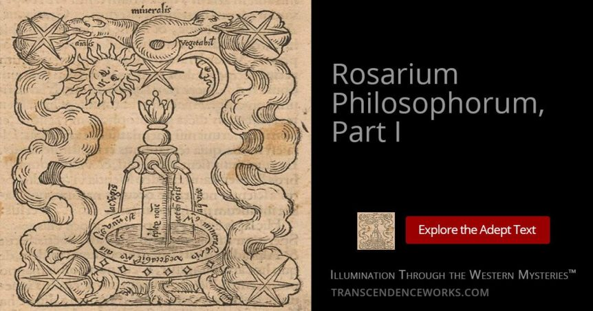 Rosarium Philosophorum, Part 1