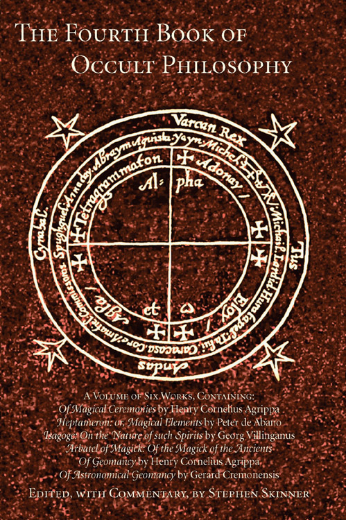 Fourth Book Occult Philosophy
